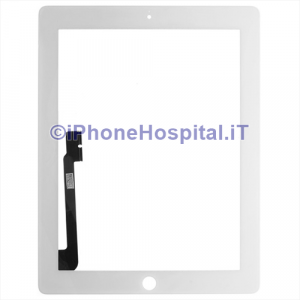 Touch Screen Bianco Grado A Per  iPad 3