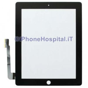 Touch Screen Nero Grado A per iPad 3