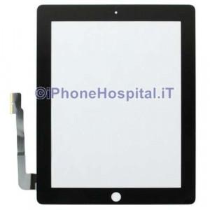 Touch Screen Nero Grado A per iPad 3