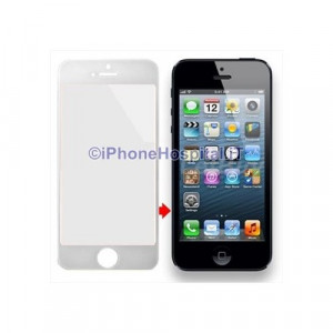 Vetro per Apple iPhone 5 color Bianco