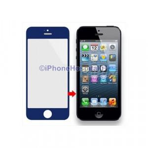 Vetro per Apple iPhone 5 color Blue
