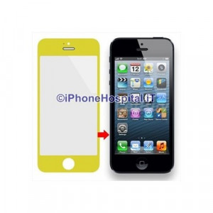 Vetro per Apple iPhone 5 color Giallo