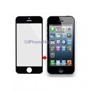 Vetro per Apple iPhone 5 color Nero