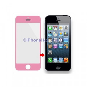 Vetro per Apple iPhone 5 color Pink