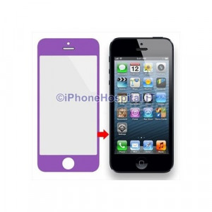 Vetro per Apple iPhone 5 color Porpora