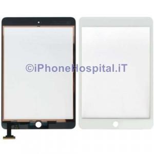 Vetro Ricambio Schermo Touch Screen Bianco per Apple Mini / Mini 2 HQ