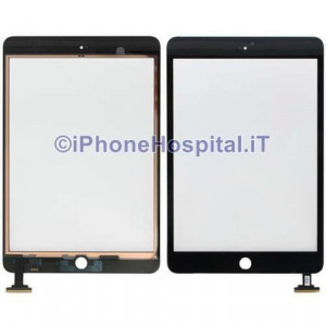 Vetro Ricambio Schermo Touch Screen Nero per Apple Mini / Mini 2 HQ