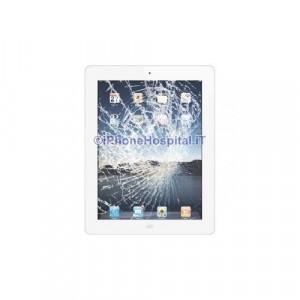 Vetro rotto bianco iPad 3