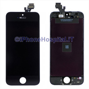 Vetro + Touch + Lcd  per iPhone 5 Nero Grado A