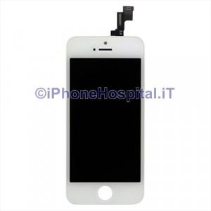 Vetro + Touch + Lcd per iPhone 5S - SE Bianco Grado A