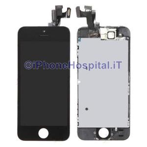 Vetro + Touch + Lcd per iPhone 5S Nero OEM Assemblato