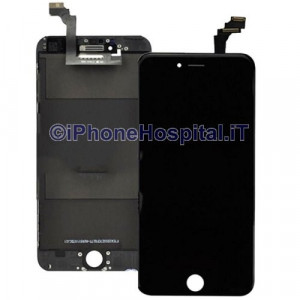 Vetro + Touch + Lcd  per iPhone 6 Nero Compatibile Grado A
