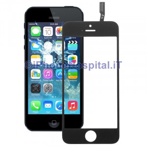Vetro + Touch Nero gia Assemblati per Apple iPhone 5S / 5C OEM