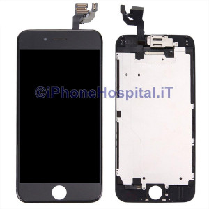 Vetro Touch Screen Lcd Assemblato per iPhone 6 Nero OEM