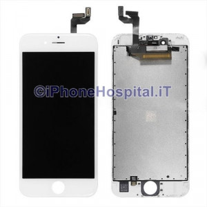 Vetro Touch Screen Lcd Assemblato per iPhone 6S Bianco OEM