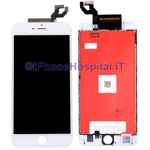 Vetro Touch Screen Lcd Assemblato per iPhone 6S Plus Bianco Grado A
