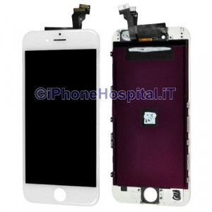 Vetro Touch Screen Lcd per iPhone 6 Bianco Compatibile Grado A