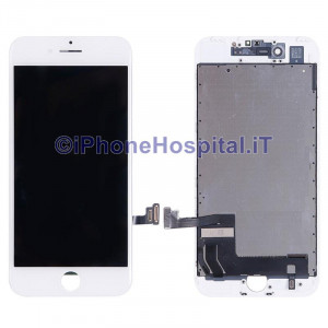 Vetro Touch Screen Lcd per iPhone 7 ( A1660, A1780, A1778, A1779 ) Bianco OEM