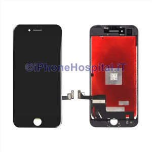 Vetro Touch Screen Lcd per iPhone 7 ( A1660, A1780, A1778, A1779 ) Nero OEM