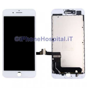 Vetro Touch Screen Lcd per iPhone 7 Plus (A1661 - A1784 -A1785 A1786) Bianco OEM