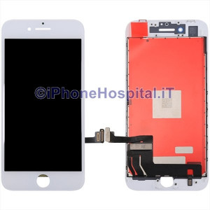 Vetro Touch Screen Lcd per iPhone 8 ( A1863 - A1905 ) Bianco OEM