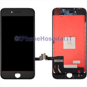 Vetro Touch Screen Lcd per iPhone 8 ( A1863 - A1905 ) Nero