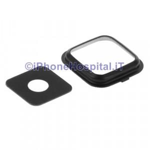 Vetro Vetrino Nero Lente Fotocamera Posteriore Camera per Samsung Note 4 / N910(Nero)