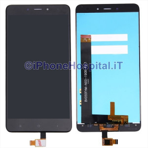 Touch Screen Vetro LCD Display Assemblati per Xiaomi Redmi 4 4X Nero